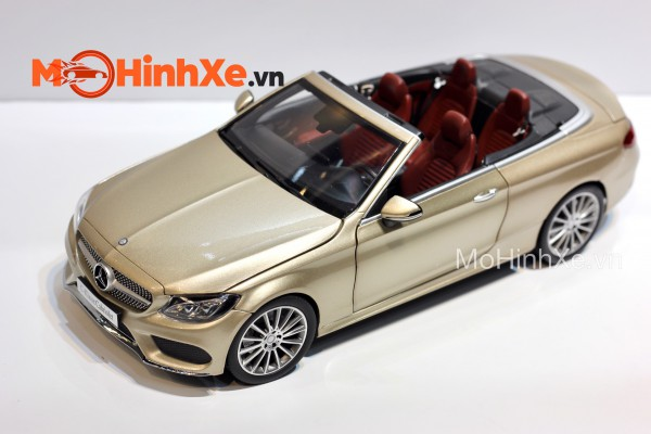 Mercedes-Benz C-Klasse Cabriolet 1:18 iScale