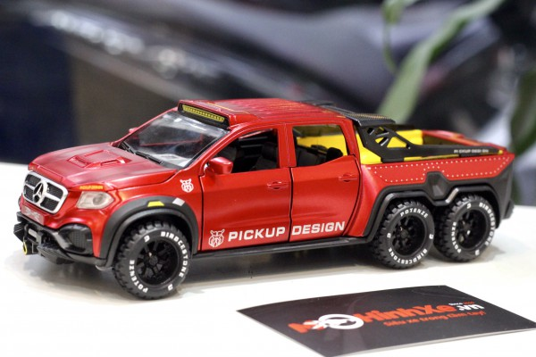 Mercedes X-Class EXY Monster X 6x6 1:32 Chimei Model