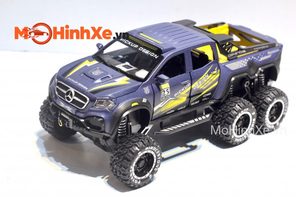 Mercedes X-Class EXY Monster X 6x6 Off-Road 1:28 Chimei Model