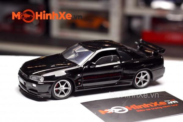 Nissan GT-R R34 1:32 Jackiekim