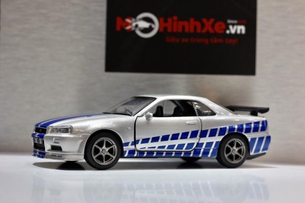 Nissan GT-R R34 1:36 Jackiekim