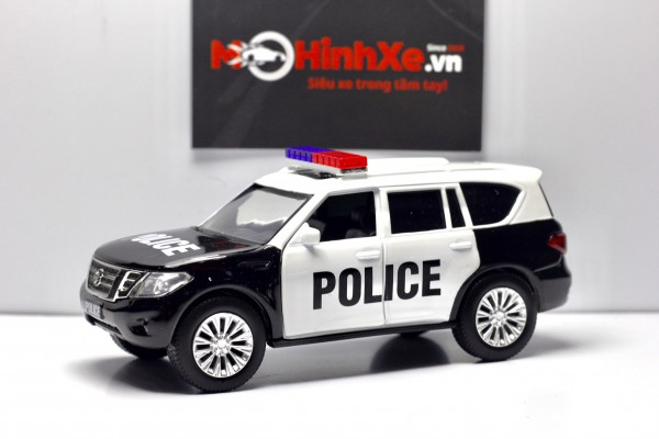 Nissan Patrol Y62 Police 1:36 Jackiekim