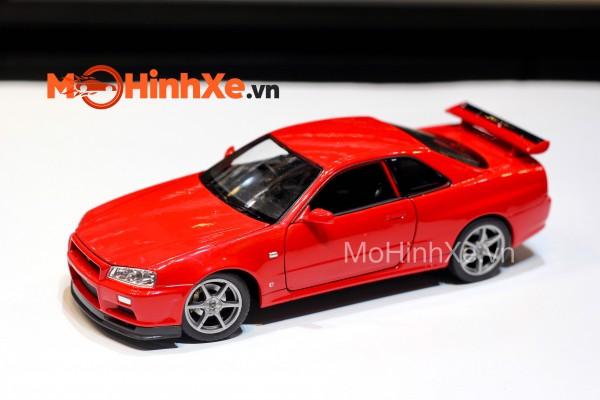 Nissan Skyline GT-R (R34) 1:24 Welly