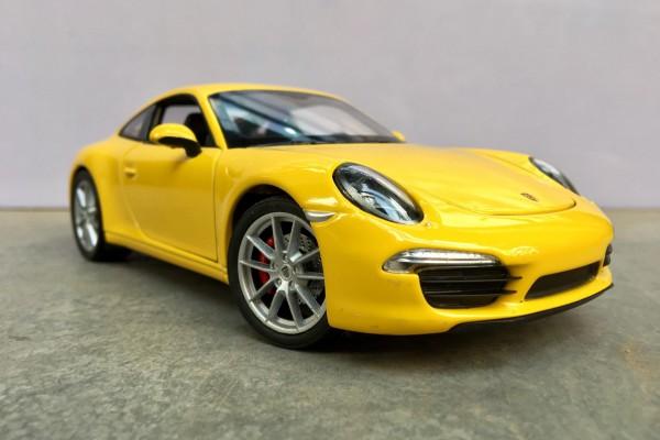 Porsche 911 (991) Carrera S 1:24 Welly