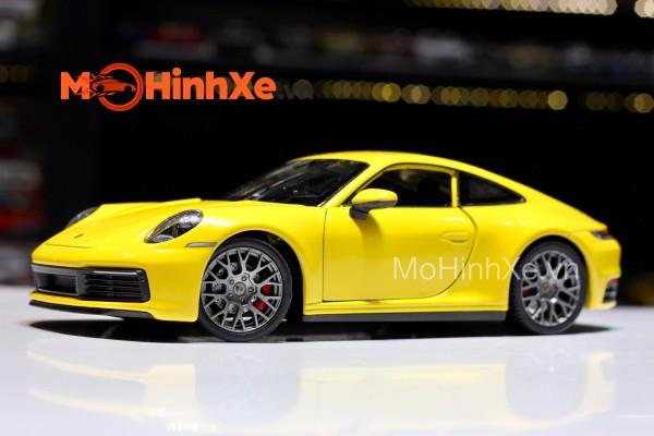 Porsche 911 Carrera 4S 1:24 Welly