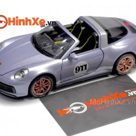 Porsche 911 Targa 4S mui trần 1:32 Newao
