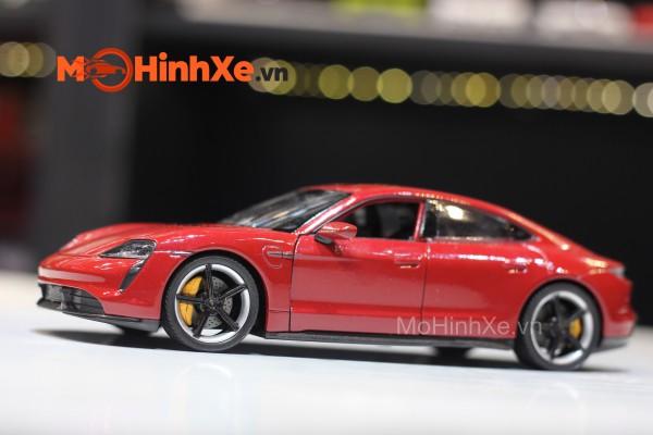 Porsche Taycan Turbo S 1:24 Welly