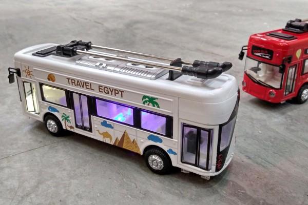 Xe Bus điện du lịch Ai Cập 1:36 Classic Car