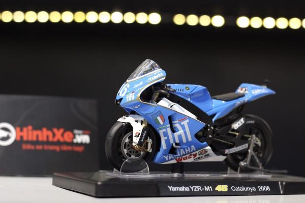 Yamaha YZR-M1 No.46 Catalunya 2008 1:18 LEO